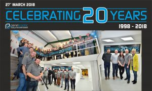 Panel Graphic Celebrates 20 years of service