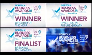 Panel Graphic Wins 2 Awards at the Norfolk Business Awards!